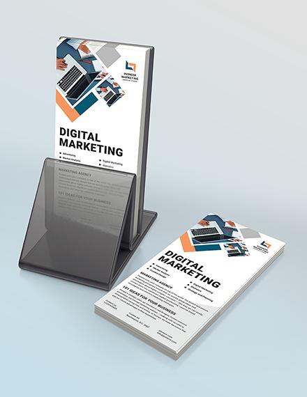 Marketing Agency Rack Card Download