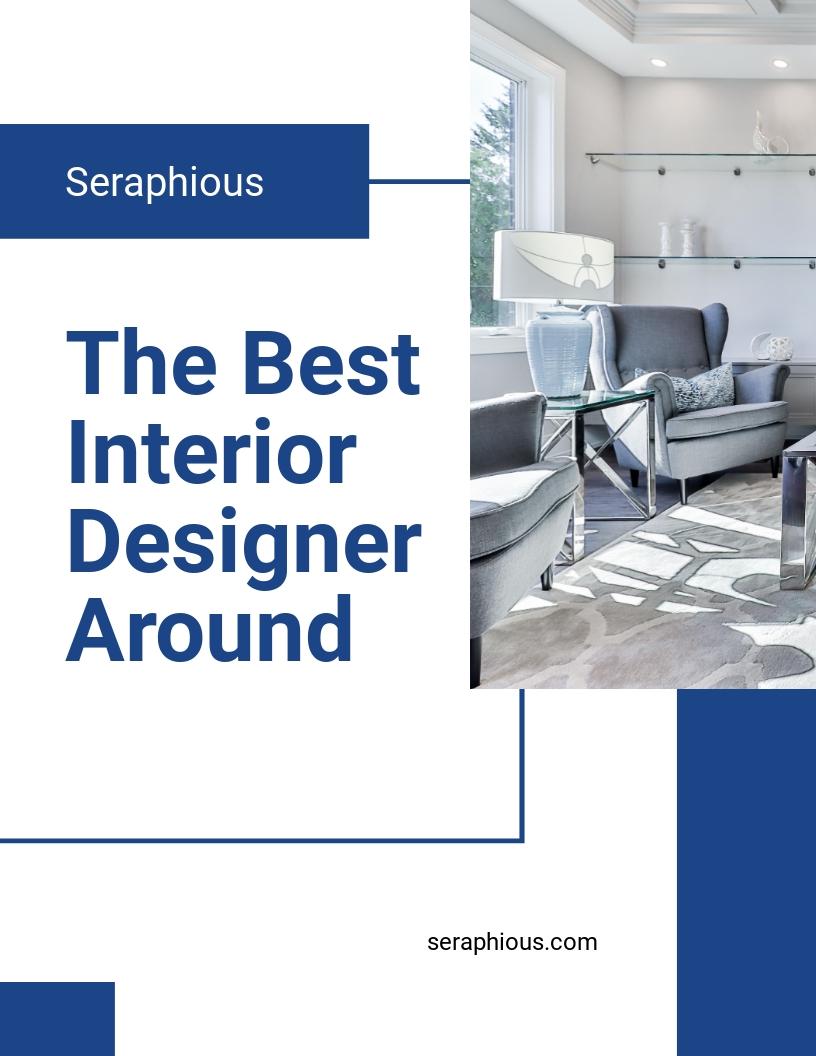 Interior Designer Flyer Template .jpe