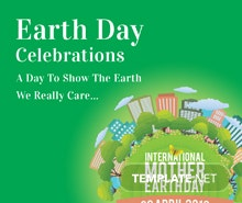 Free International Earth Day Instagram Post Template