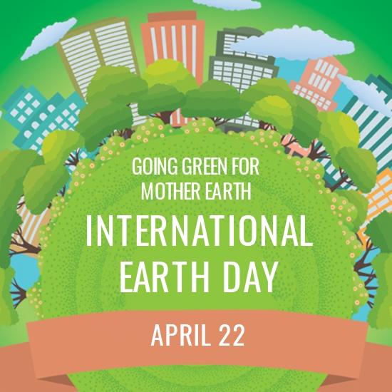International Earth Day Instagram Profile Photo Template [Free JPG] - PSD