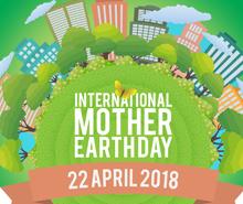 Free International Earth Day LinkedIn Profile Banner Template