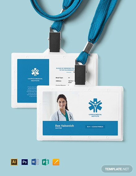 28 free id card templates download ready made template net