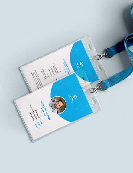 Daycare Teacher ID Card Download