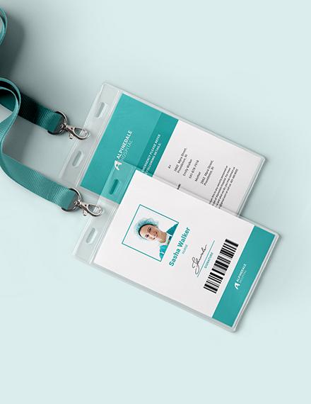Hospital Staff ID Card Download