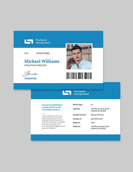 Sample ID Card