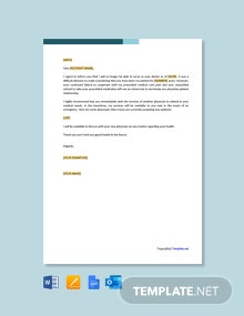 Free Sample Patient Termination Letter Due to Non-Compliance