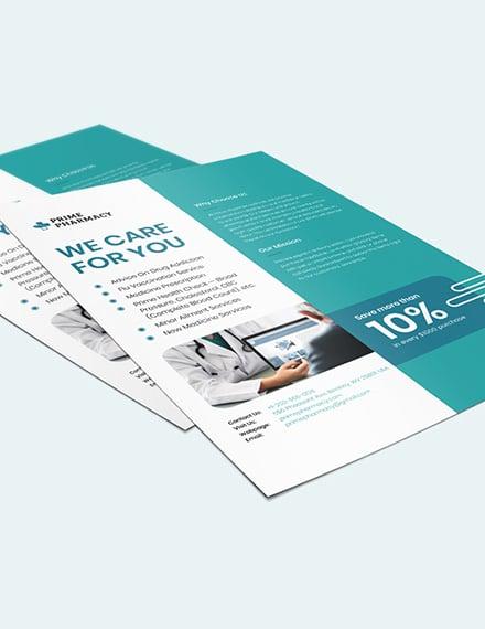 Sample Pharmacy Advertising Flyer