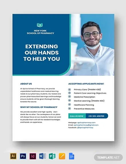 Pharmacy School Flyer Template
