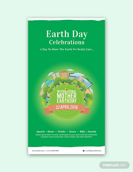 free international earth day snapchat geofilter template download