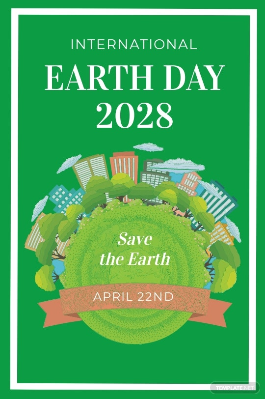 International Earth Day Tumblr Post Template