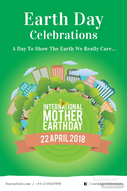 Free international earth day tumblr post template in adobe free international earth day tumblr post template stopboris Image collections