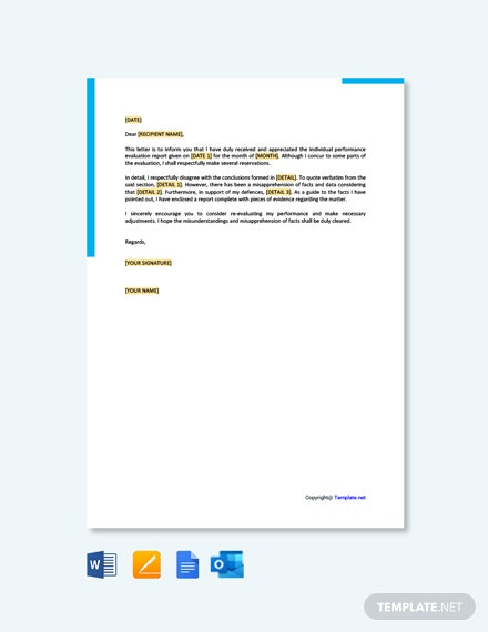 6 Rebuttal Letter Templates In Google Docs