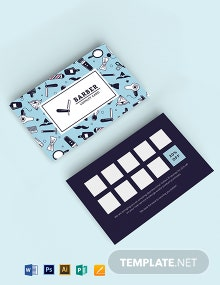 Customer Loyalty Card Template