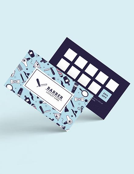 customer loyalty card template