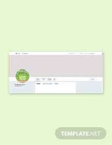 Free International Earth Day Twitter Profile Photo Template