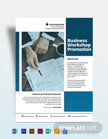 Business Workshop Promotion Flyer Template