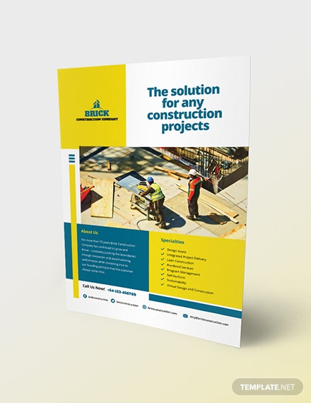 Commercial Construction Flyer Download