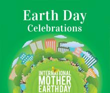 Free International Earth Day YouTube Profile Photo Template