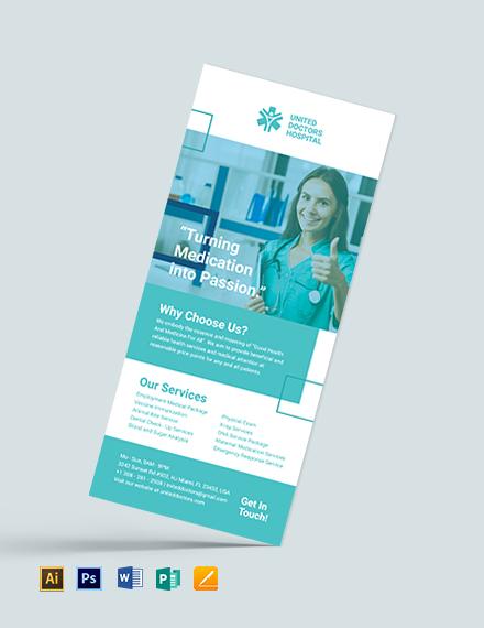 Hospital Rack card