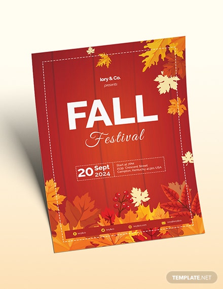 Fall Festival Flyer Download