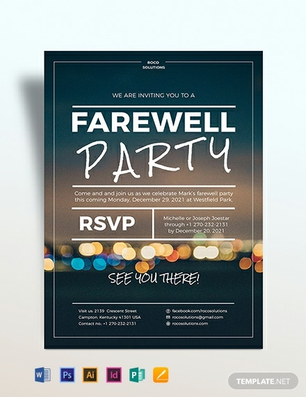 farewell party flyer template 440x570 1