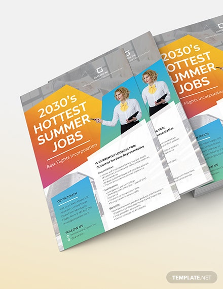 Job Advertising Flyer Download