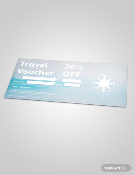 Free Travel Discount Voucher Template