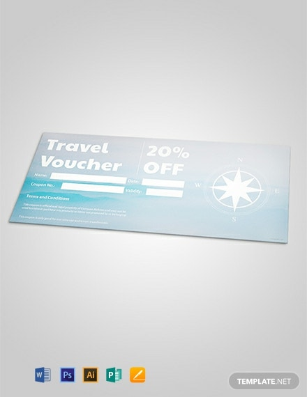 Free Travel Discount Voucher Template