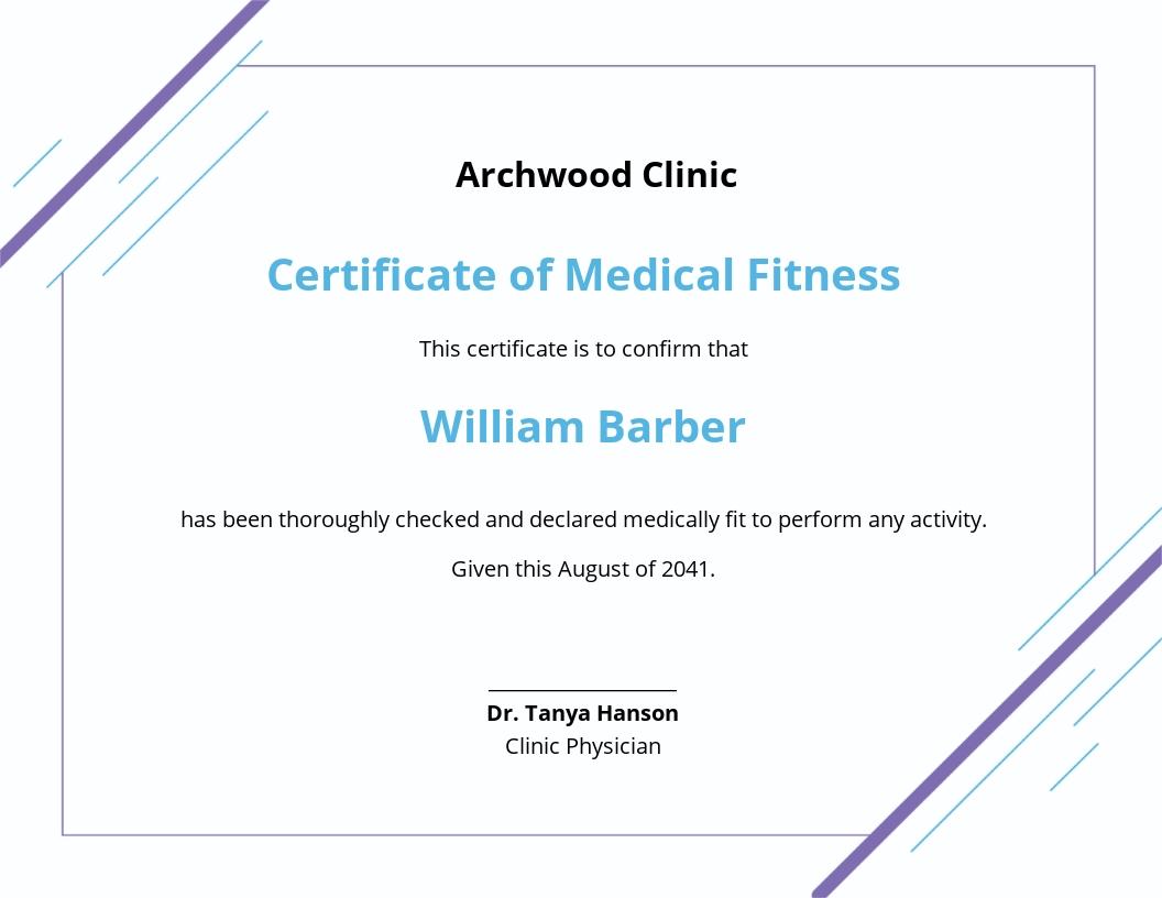 Medical Fitness Certificate Template.jpe