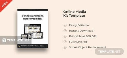 Free Online Media Kit Template