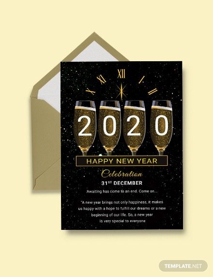 Free New Year Greeting Card