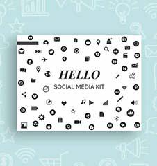 Free Social Media Kit Template