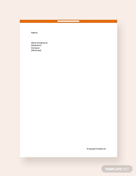FREE Tax Auditor Appointment Letter Template - Word | Google ...