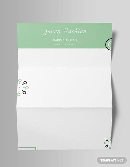 Free Fashion Store Letterhead Template