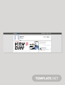 Free May Day LinkedIn Blog Post Template
