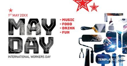 Free May Day LinkedIn Blog Post Template