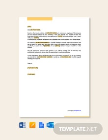 Free Proposal Letter For Job Opportunity