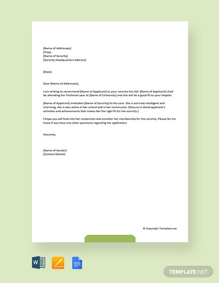 119  free recommendation letter templates