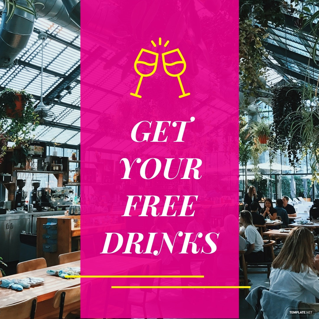 Restaurant Instagram Ad Template