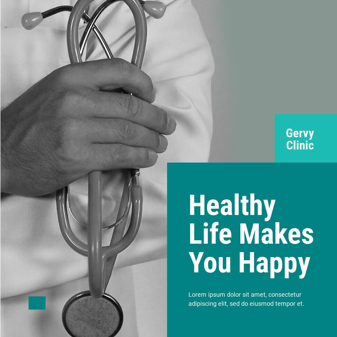 Medical Instagram Ad Template