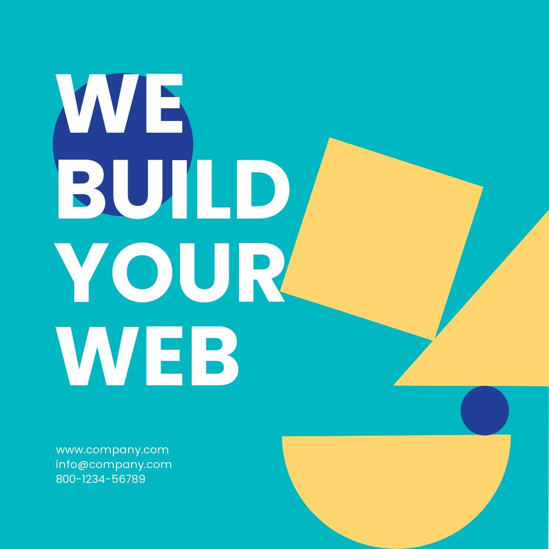 Web Design Instagram Ad Template