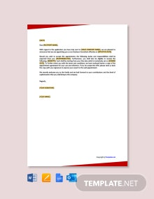 Free Business Consultant Appointment Letter