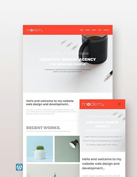 Sample Creative Agency Wordpress Theme