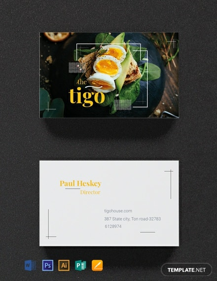 free restaurant business card template 440x570 1