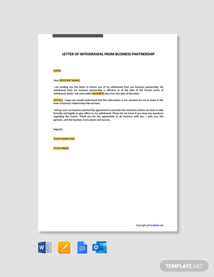 Sample Letter Of Withdrawal from images.template.net