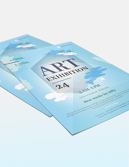 Art Exhibition Flyer Download