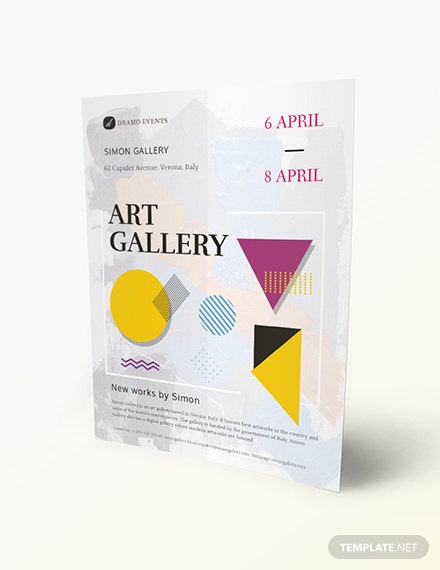 Art Gallery Flyer Download