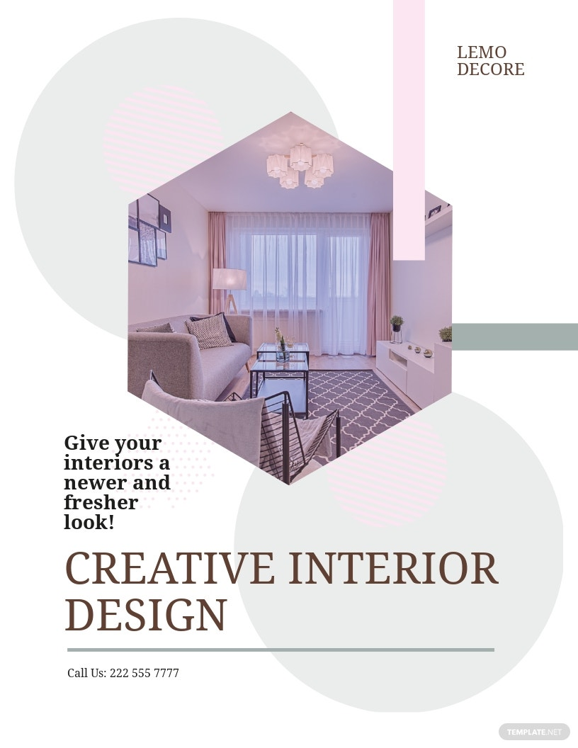 Creative Interior Design Flyer Template.jpe