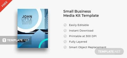 Free Small Business Media Kit Template