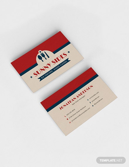 Commercial Cleaning Service Business Card Sample